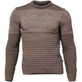 Ivanhoe of Sweden Mattis Crew Neck Trui Heren, dark khaki